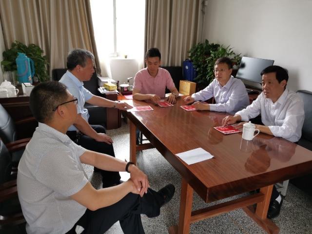 校领导带队赴江苏省滨海中等专业学校洽谈合作