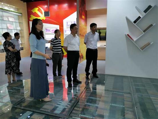 党委书记王光文带队到盐城师范美高梅娱乐学习交流
