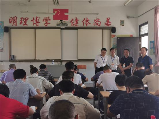 施福新副校长巡查国开大学如东学习中心