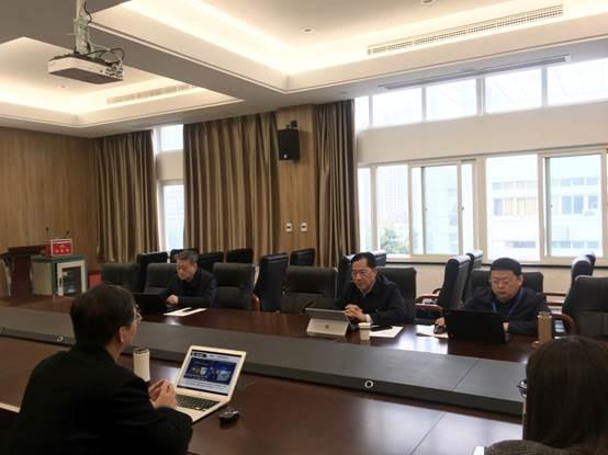 党委书记王光文赴二级学院调研指导高水平专业群建设工作
