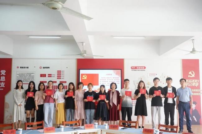 青春向党 梦想起航——化工学院开展毕业季系列主题教育活动