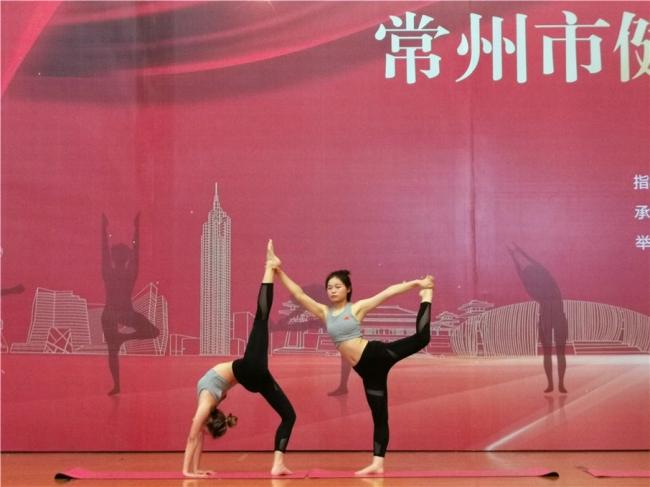 我校瑜伽运动队斩获常州市健身瑜伽比赛一等奖三项